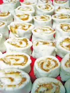 Potato Candy (Amish recipe).  YUMMY.  Mom makes these too.  My brother's favorite.