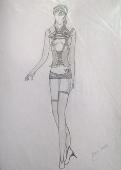 Lingerie goth - coleção Mis Seduction