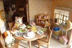 My House on the Hill Sylvanian Families House, Sylvania Families, Hill Interiors, Sweet Little Things, Miniature Houses, Diy Dollhouse, Cute Designs, Cute Pictures, My House