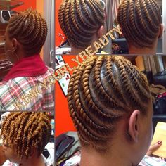 A Cute Protective Style? – 18 Flat Twist Updo Styles You Should Try [Gallery] Need A Cute Protective Style? - 18 Flat Twist Updo Styles You Should Try [Gallery]Need A Cute Protective Style? - 18 Flat Twist Updo Styles You Should Try [Gallery] Natural Hair Braids, Natural Twists, Natural Hair Care, Natural Hair Styles, Flat Twist Styles, Flat Twist Updo, 2 Strand Twist Styles, Flat Twist Hairstyles, Braided Hairstyles