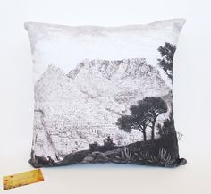 Cape Town cushion cover by handmadebymeshop on Etsy