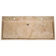 """48"""" Stone Trough Console Sink - Bathroom Sinks - Bathroom"""
