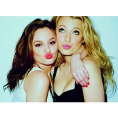 Blair and Serena-- remake with ash