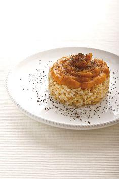 Crema di zucca allo zenzero con riso integrale - Tutte le ricette dalla A alla Z…
