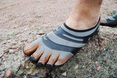 Přirozené běhání - boty fivefingers