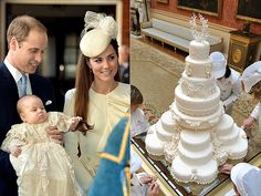 Prince George's Christening Dessert: Fruitcake - recipe included in link/People article Baby Prince, Royal Prince, Prince Harry, Baby Christening Cakes, Royal Family Portrait, Royal Recipe, Prince Charles And Diana, British Traditions, Sugar Cake
