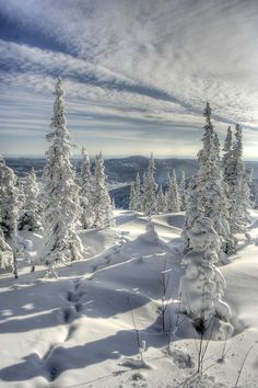 Russia, Siberia  beautiful scene, but glad I'm not THERE!