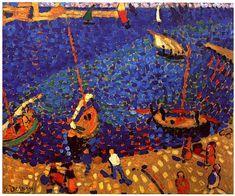Boats at Collioure - Andre Derain