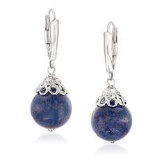 Pearl Drop Earrings, Women's Earrings, Sapphire Pendant, Blue Topaz Ring, Fine Jewelry, Jewelry Rings, Gemstones, Sterling Silver, Jewerly