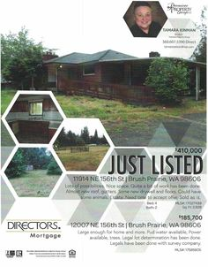 Real Estate for sale at $410,000! Come and view this four bedroom, two bath, 2828 square foot two level Day Ranch home being sold