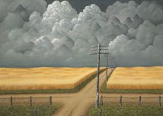 Gray and Gold / John Rogers Cox / 1942 / oil on canvas