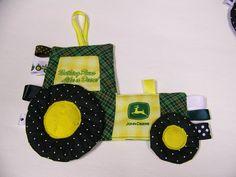 John Deere Tractor Teething Toy - pdf pattern