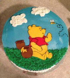 Winnie the Pooh cake Birthday Cakes, 2nd Birthday, Winnie The Pooh Cake, Jack 2, Character Cakes, Cake Decorations, Buttercream Cake, Kids Room, Deserts