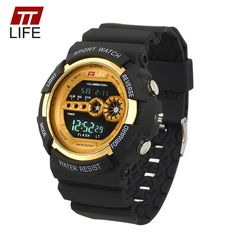 410c43f47d92 TTLIFE Watch Automatic Waterproof Sport Watch Men Fashion Digital Watch Top  Quality Famous Clock Army Shock. Montre FitnessMen's WatchesWatches ...
