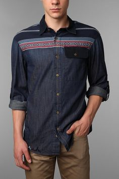 Staple Sante Fe Chambray Shirt  #UrbanOutfitters