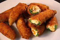 delicious looking jalapeno poppers