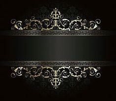 Gold Wallpaper Background, Framed Wallpaper, Photo Background Images, Logo Background, Wedding Invitation Background, Wedding Background, Royal Pattern, Gold Pattern, Floral Frames