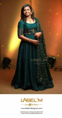 Indian Wedding Gowns, Indian Bridal Outfits, Indian Bridal Lehenga, Indian Gowns Dresses, Wedding Sarees, Kerala Engagement Dress, Engagement Dress For Bride, Engagement Gowns, Couple Wedding Dress