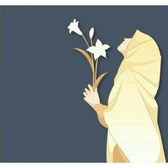 Hijab Drawing, Islamic Cartoon, Bff Drawings, Anime Muslim, Hijab Cartoon, Islamic Girl, Islamic Wallpaper, Islamic Pictures, Girl Cartoon