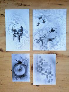 Airbrush Tattoo, Tattoos, Halloween Party, Clock, Decor, Kids Makeup, Stencils, Birthday, Creative
