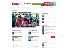 #Trendy_WordPress_theme is a multicolumn, clean #magazine_WordPress_theme . For Download Visit: http://www.premiumthemes4u.com/2014/05/trendy-wordpress-theme.html