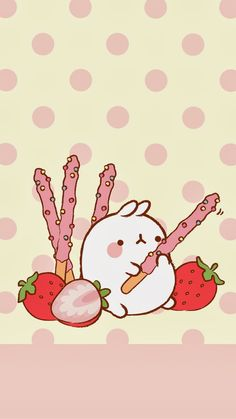 Wallpapers para tu Celular Molang - Ley-WorldKawaii