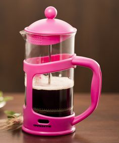 Pink  French Press