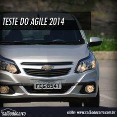 Teste do Chevrolet Agile LTZ 2014  » www.salaodocarro.com.br/testes/chevrolet-agile-ltz-2014.html