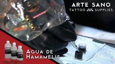 El agua de hamamelis, se utiliza para reducir las inflamaciones de la piel y para mejorar la salud general de la piel. Usándolo como diluyente para trabajar las sombras, te ayudará en la realización del tatuaje, evitando rojeces e hinchazones. Encuéntralo en: https://www.artesanotattoosupplies.com/p1255969-agua-de-hamamelis-arte-sano-tattoo-supplies.html