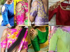 Know the latest blouse design for sarees that is the cold shoulder saree blouse trend that you can wear with plain sarees, silk sarees etc. Silk Saree Blouse Designs, Kurta Designs, Blouse Patterns, Silk Sarees, Cold Shoulder Saree Blouse, Blouse Desings, Indian Blouse, India Fashion, Women's Fashion