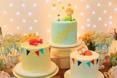 Little Prince Party, The Little Prince, Boys 1st Birthday Party Ideas, 1st Birthday Girls, Baby Shower Cakes, Baby Boy Shower, Festa Party, Baby Party, First Birthdays