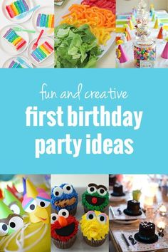 First Birthday Party Ideas | onelittleproject.com