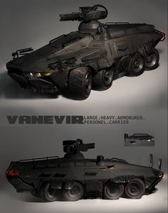 VANEVIR:interior_backView Picture  (2d, automotive, military, truck, futuristic)