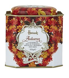 Harrods Autumn Loose Leaf Tea available to buy at Harrods. Shop the celebration tea range online & earn reward… Fall Recipes, Wine Recipes, Gourmet Recipes, Twinings Tea, Autumn Tea, Autumn Leaves, Luxury Food, Afternoon Tea Parties, Tea Packaging