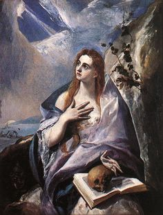 El Greco ca. 1541 – 1614 Mary Magdalene in Penitence oil on canvas × 121 cm) — 1578 Museum of Fine Arts, Budapest El Greco biography This work is linked to Luke Fine Art, El Greco, Museum Of Fine Arts, El Greco Paintings, Mary Magdalene, Renaissance Art, Painting, Art, Canvas Art