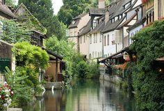 La Lauch et la petite Venise, Colmar, France (by alainmichot93).