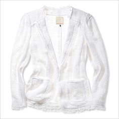 Rebecca Taylor - Shopping for Little White Jackets - What's Right Now - Fashion - InStyle