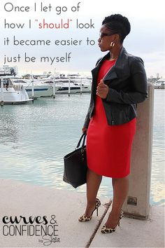 Girl Talk: My Confidence Story - Curves and Confidence Curvy Girl Fashion, Plus Size Fashion, Estilo Miami, Curves And Confidence, Look Plus Size, Miami Fashion, Dress For Success, Fashion Outfits, Womens Fashion