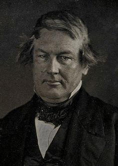 Millard Fillmore by Mathew Brady, 1849-one is duty bound to pin this distant relative. Also, one may add, the only familial similarity he and I have, especially this morning, are the bad hairs.