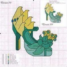 Tiana x-stitch shoe