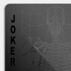 Black Playing Cards - Cool Material