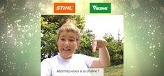 ANDREAS STIHL SAS : Découvrez chaque vendredi, pendant 8 semaines, le nouveau programme court « Tous au Jardin », diffusé depuis le 27 mai 2016, sur la chaîne YouTube STIHL France avec la paysagiste Dplg Pauline Robiliard