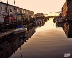 Sunrise on the wharf.