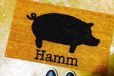 We love custom mats! 🏠Our doormats make great wedding presents just like this one 💍 Great Wedding Presents, Insta Followers, Custom Mats, Doormats, Instagram Posts, Etsy, Home Decor, Custom Rugs, Door Mats