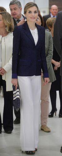 17 Jun 2016 - Queen Letizia visits San Telmo Museum in San Sebastián. Click to read more