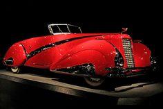 1937 Cadillac V-16 Hartmann Cabriolet  by mvonraesfeld, via Flickr
