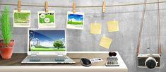 стол,фотоаппарат,беспорядок,файл,ноутбук,фото,рамка,Примечания,плакат баннер,грей