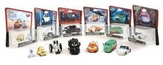 "Exclusive From Walt Disney World New Complete set of all 7 Disney Pixar ""Cars"" (6 packages) as LucasFilms ""Star Wars"" characters Disney Racers The ""Cars"" ~ ""Star Wars"" mash up in First series are: Lightning McQueen as Luke Skywalker X-Wing Fighter Pilot... more details available at https://perfect-gifts.bestselleroutlets.com/gifts-for-babies/toys-games-gifts-for-babies/product-review-for-disney-pixar-cars-star-wars-complete-set-series-1"