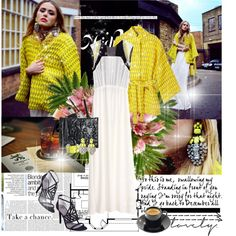 """""""all about YELLOW"""" by nikolina-pinto ❤ liked on Polyvore"""
