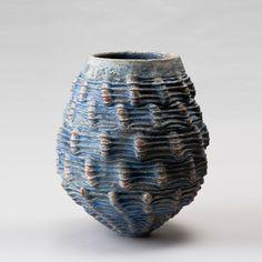 Simone Fraser, Ceramic Form #1, 2011, ceramic form, dry glaze, terracotta slip, mid-fired